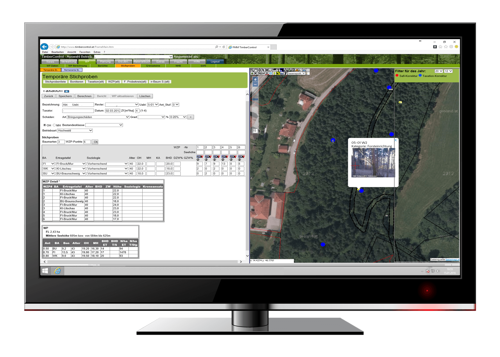 Software & Apps for Forest Management – Forest Mapping Management