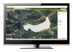 Generate automated hunting territory maps from cadastral data and land register information.