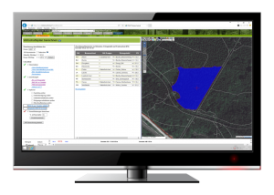 Calculate all relevant data for forestry from your recorded point samples.